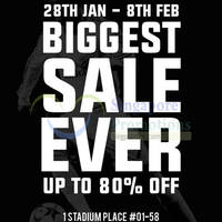 Weston Corp Biggest Sale Ever @ Kallang Wave 28 Jan - 8 Feb 2015