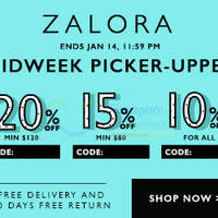 Read more about Zalora 20% OFF Storewide 12hr Coupon Codes 14 Jan 2015