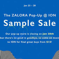 Read more about Zalora Closing Down Sale @ ION Orchard 23 - 28 Jan 2015