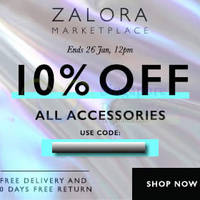 Read more about Zalora 10% OFF Marketplace Accessories Coupon Code 23 - 26 Jan 2015