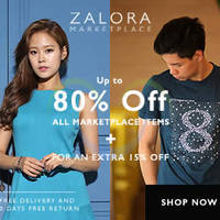 Zalora 15% OFF Marketplace Items NO Min Spend Promo Coupon Code 30 Mar 2015