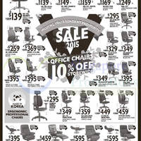 Read more about vHive 10% Off Storewide Office Chairs 10 - 16 Jan 2015