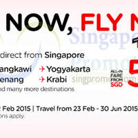 Read more about Air Asia From $40 (all-in) No Fuel Surcharge Promo Fares 9 - 22 Feb 2015