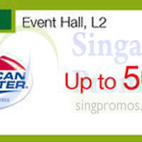 American Tourister Promotion @ Tampines Mall 2 - 8 Mar 2015