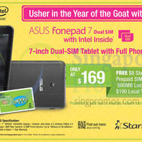 Read more about Asus Fonepad 7 Promotion Offer @ 7-Eleven 6 - 28 Feb 2015