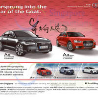 Read more about Audi A6, A4 Sedan, A3, Q3 & A5 Offers 7 Feb 2015