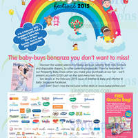 Read more about Babycare Festival @ Singapore Expo 6 - 8 Feb 2015