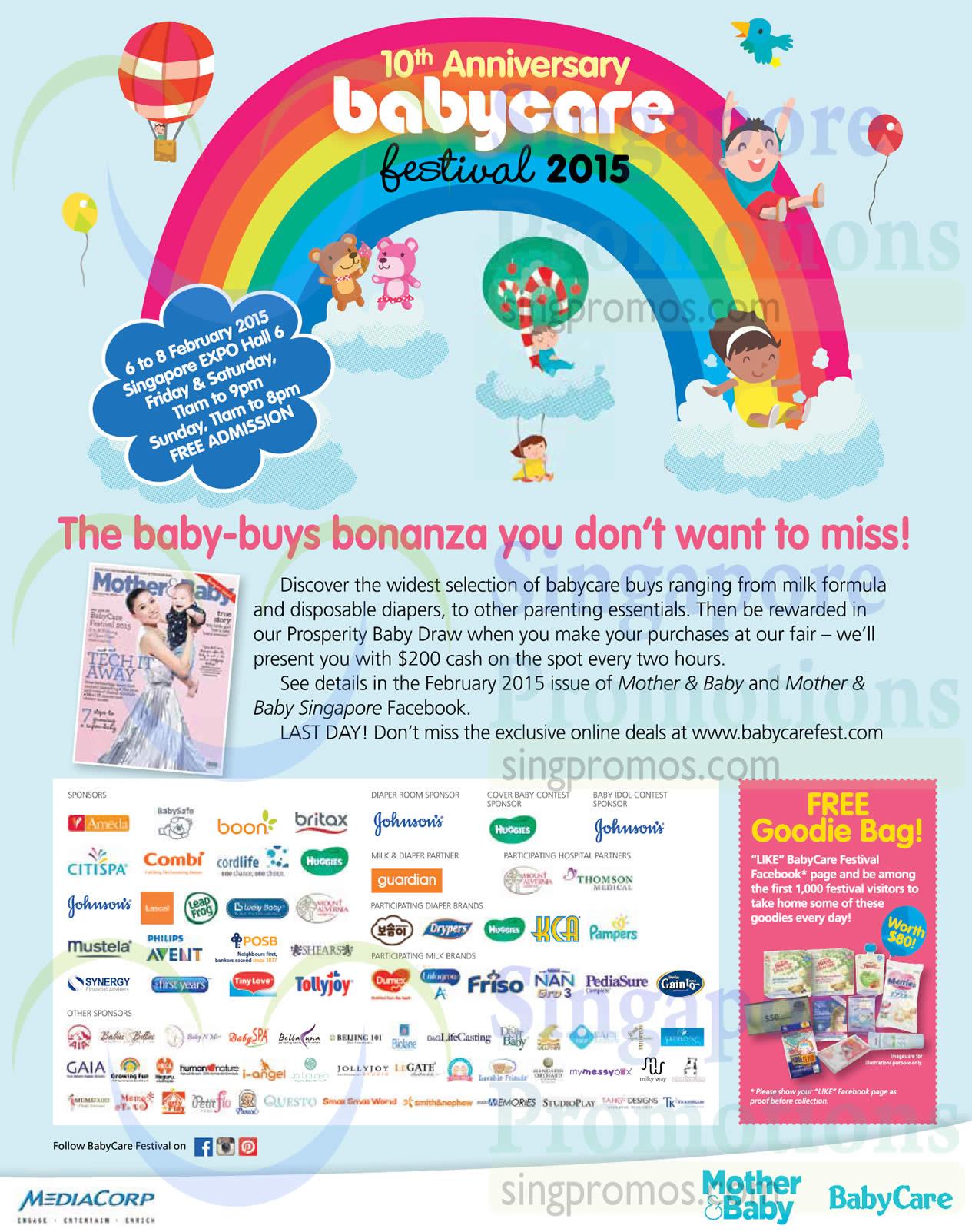 Babycare Festival Event Information