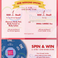Read more about Bath & Body Works First Year Anniversary Celebration @ MBS 6 - 15 Feb 2015