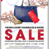 Read more about Brandsfever Handbags & Footwear Sale @ Mandarin Orchard 20 - 21 Feb 2015
