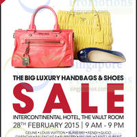 Read more about Brandsfever Handbags & Footwear Sale @ Intercontinental Hotel 28 Feb 2015