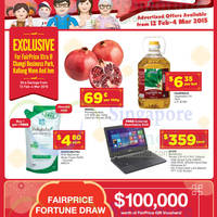 Read more about NTUC Fairprice Super Saver Catalogue Offers 12 Feb - 4 Mar 2015