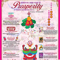Changi City Point New Year of Prosperity Promotions & Activities 16 Jan - 18 Feb 2015