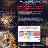 Read more about Chingay 2015 Orchard Night Fiesta @ Orchard 1 Mar 2015