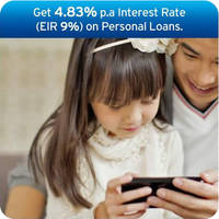 Read more about Citibank Personal Loans 4.83% p.a. Interest Rate Welcome Offer 5 - 31 Mar 2015
