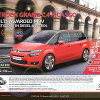 Read more about Citroen Grand C4 Picasso Offer 7 Feb 2015