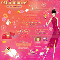 Read more about CityLink Mall Great Abundance Events & Promotions 23 Jan - 22 Feb 2015