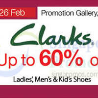 Read more about Clarks Promotion Event @ Isetan Scotts 13 - 26 Feb 2015