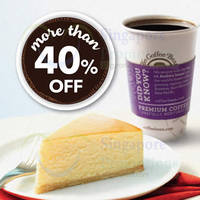 Coffee Bean & Tea Leaf 40% Off Coffee/Tea & Cake Set 28 Feb - 1 Mar 2015