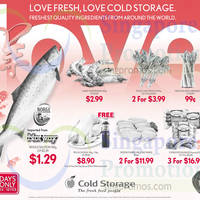 Read more about Cold Storage Salmon 100g $1.29, Evergood Sausages $16.99 for 3 & More Offers 14 - 18 Feb 2015