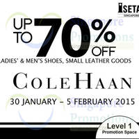 Read more about Cole Haan Up To 70% Off @ Isetan Scotts 30 Jan - 5 Feb 2015