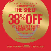 Read more about Cotton On 38% OFF Sitewide Promo 12 - 22 Feb 2015