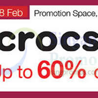 Read more about Crocs Promotion Event @ Isetan Orchard 2 - 28 Feb 2015