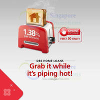 Read more about DBS 1.38% p.a. Home Loan Deal 4 - 10 Feb 2015