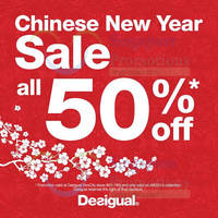 Read more about Desigual 50% Off Sale 11 Feb - 10 Mar 2015