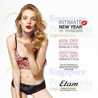 Read more about Etam 40% Off Intimates Offer 12 - 15 Feb 2015