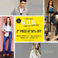 Read more about Topshop, Topman, Miss Selfridge & Dorothy Perkins 50% Off Selected Range 1-Day Sale 4 Feb 2015