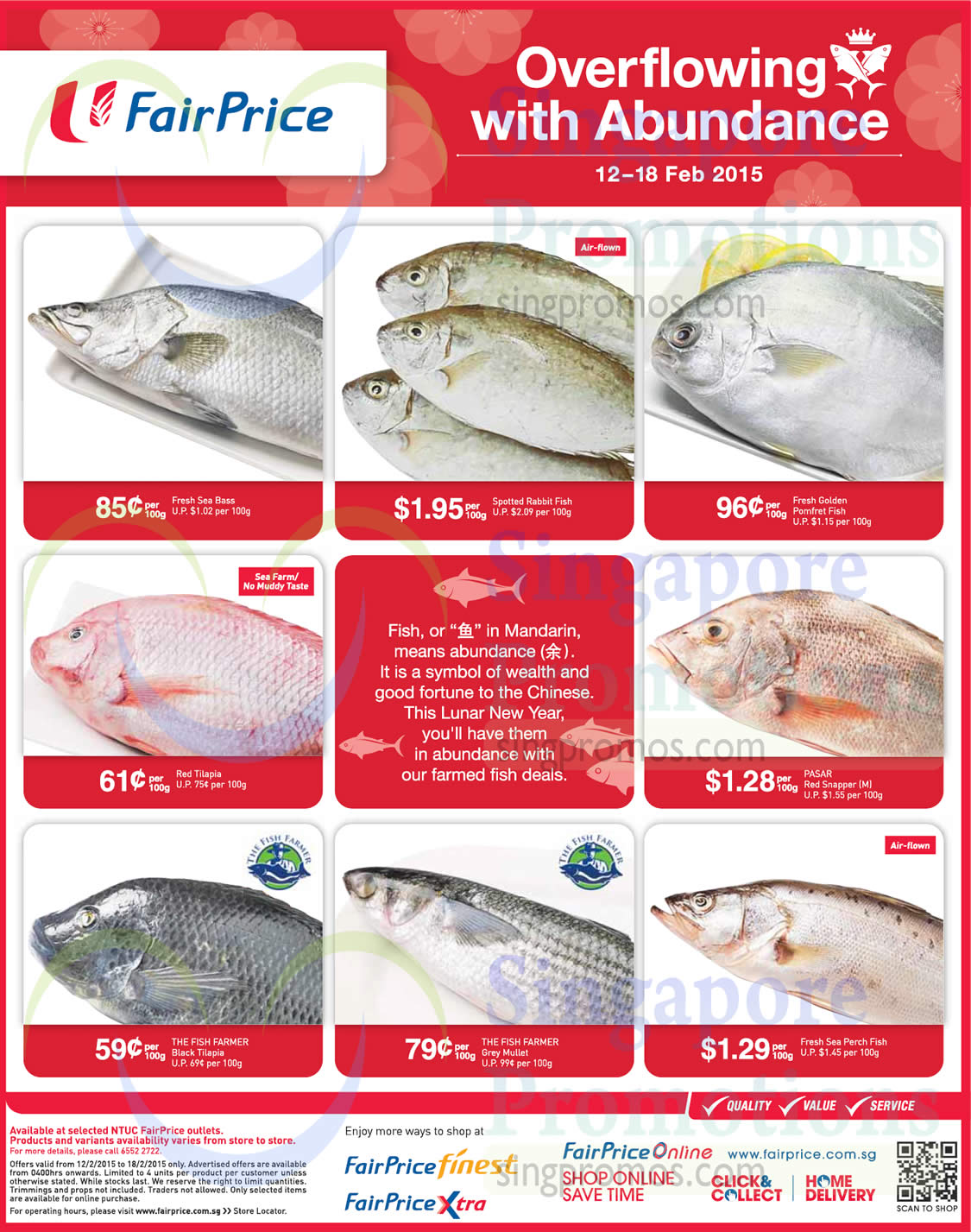 Fishes red snapper spotted rabbit fish fresh sea perch for Fish food golf balls