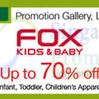 Fox Kids & Baby Promotion @ Nex 3 - 9 Mar 2015