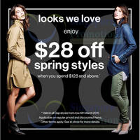 Read more about Gap Spend $128 & Get $28 Off Spring Styles 23 Feb - 1 Mar 2015