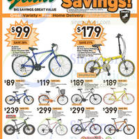 Giant Hypermarket Aleoca Bicycles Offers 27 Feb - 12 Mar 2015