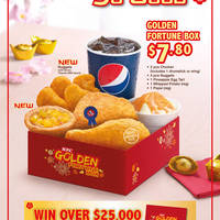 Read more about KFC NEW Golden KFC Nuggets & Pineapple Egg Tarts 2 Feb 2015