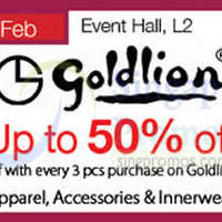 Read more about Goldlion Promotion Event @ Tampines Mall 13 - 24 Feb 2015