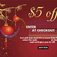 Read more about Groupon $5 OFF 48hr Coupon Code 5 - 6 Feb 2015