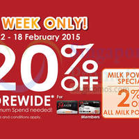 Read more about Guardian 20% OFF Storewide For Passion Cardmembers 12 - 18 Feb 2015