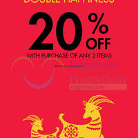Read more about Guess 20% Off Chinese New Year Promotion 19 Feb - 1 Mar 2015