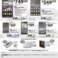 Read more about Huawei Smartphones, Tablets & Accessories No Contract Offers 21 - 27 Feb 2015