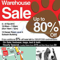 Read more about Hush Puppies Warehouse SALE Up To 80% Off @ Sulisam Building 5 - 8 Feb 2015