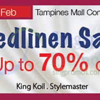 Read more about Isetan Bedlinen Sale @ Tampines Mall 9 - 22 Feb 2015
