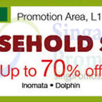 Isetan Household Sale @ Tampines Mall 2 - 8 Mar 2015