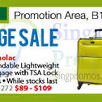 Read more about Isetan Luggage Sale @ Isetan Orchard 24 Feb 2015
