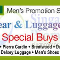 Read more about Isetan Men's Wear & Luggage Sale @ Parkway Parade 2 - 11 Mar 2015