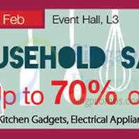 Read more about Isetan Household Sale @ Nex 2 - 12 Feb 2015