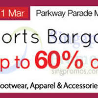 Read more about Isetan Sports Bargain Event @ Parkway Parade 21 Feb - 1 Mar 2015