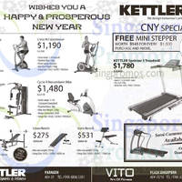Kettler Fitness Equipment Offers 27 Feb 2015