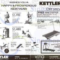 Kettler Fitness Equipment Offers 27 Feb 2015